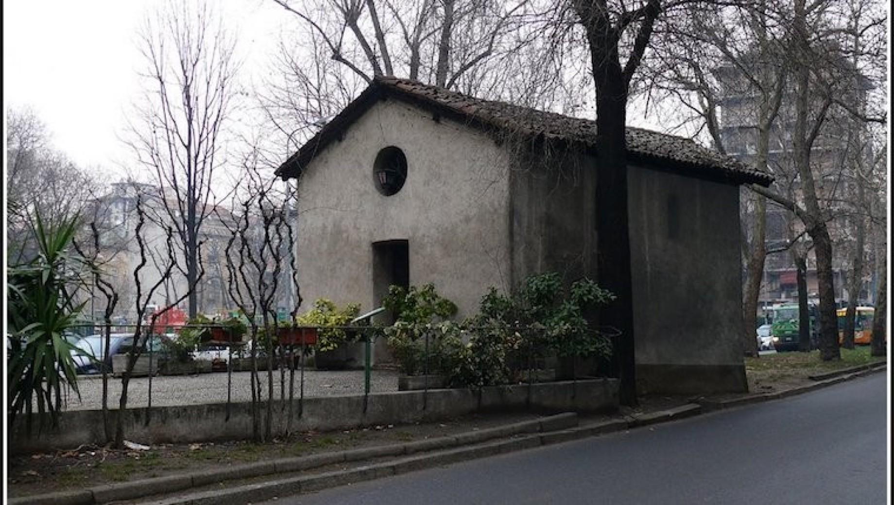 Risultati immagini per Oratorio di San Protaso al Lorenteggio - La chiesetta delle lucertole