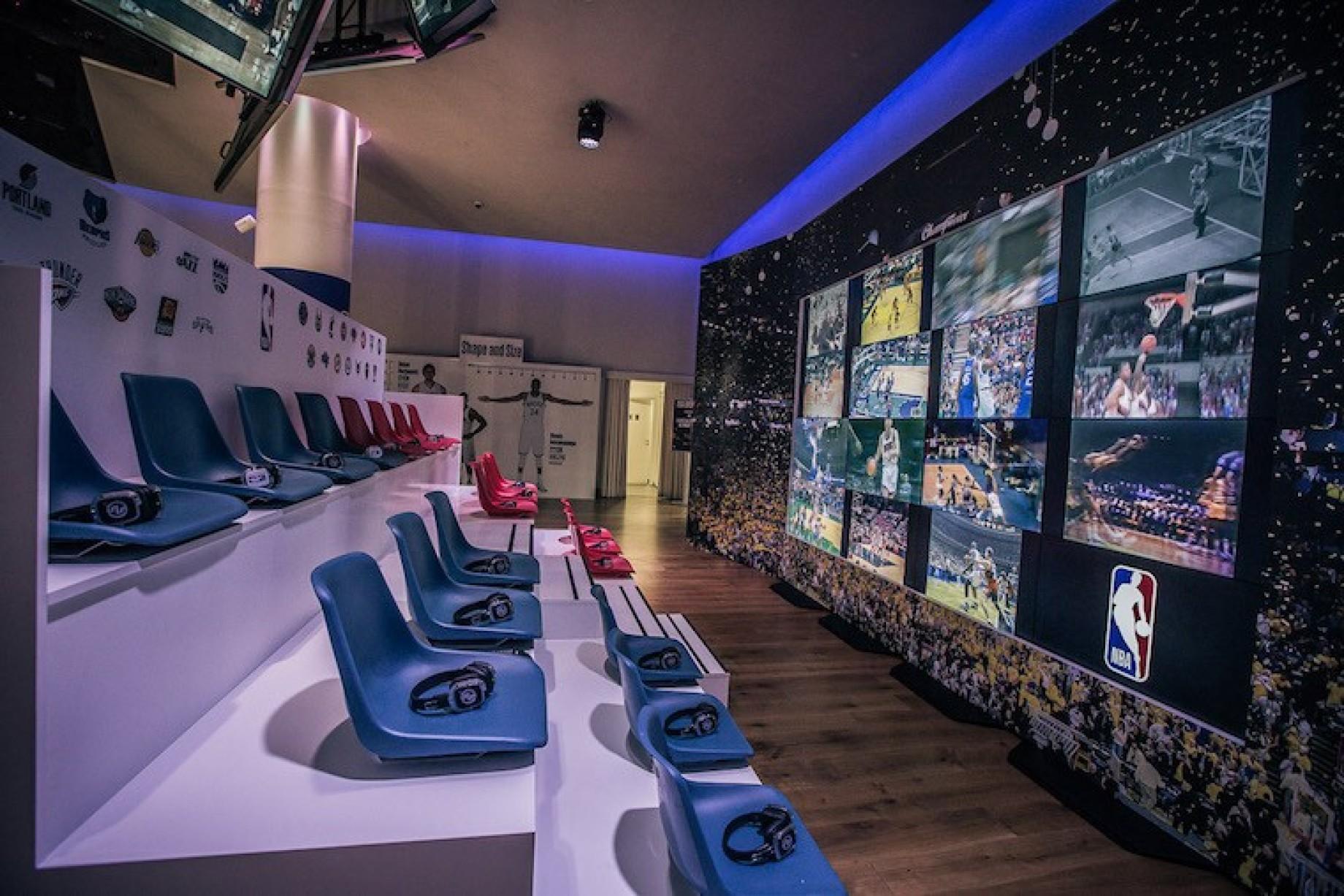 A milano arriva nba overtime la mostra dedicata a tutti for Samsung arena milano