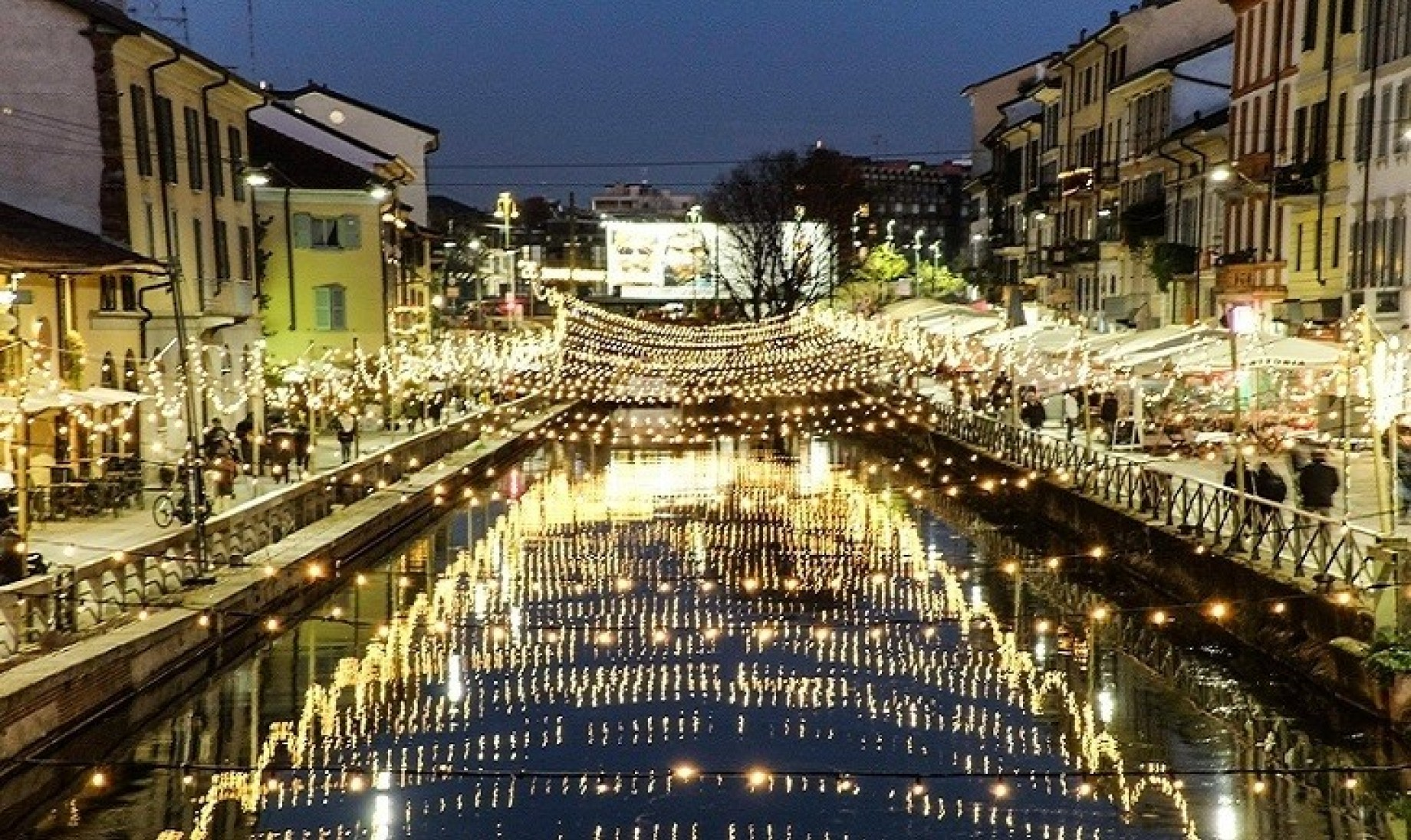 Milano a Natale: i Navigli