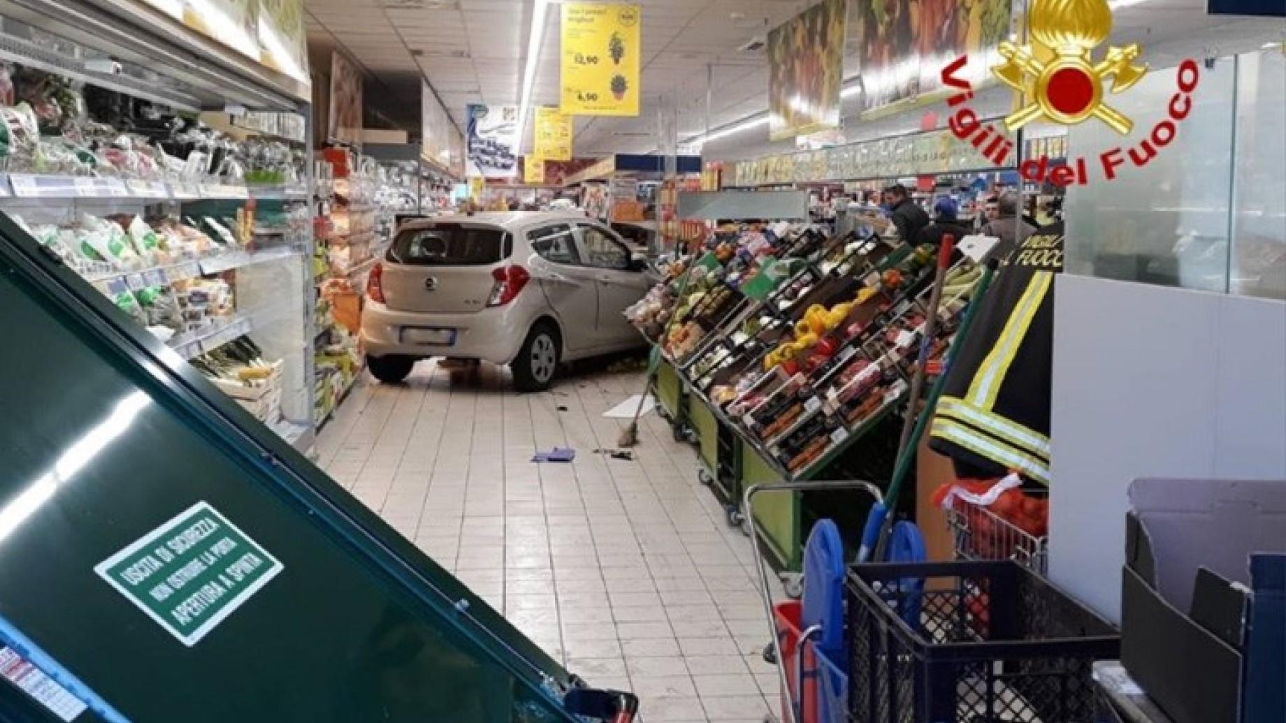 auto supermercato