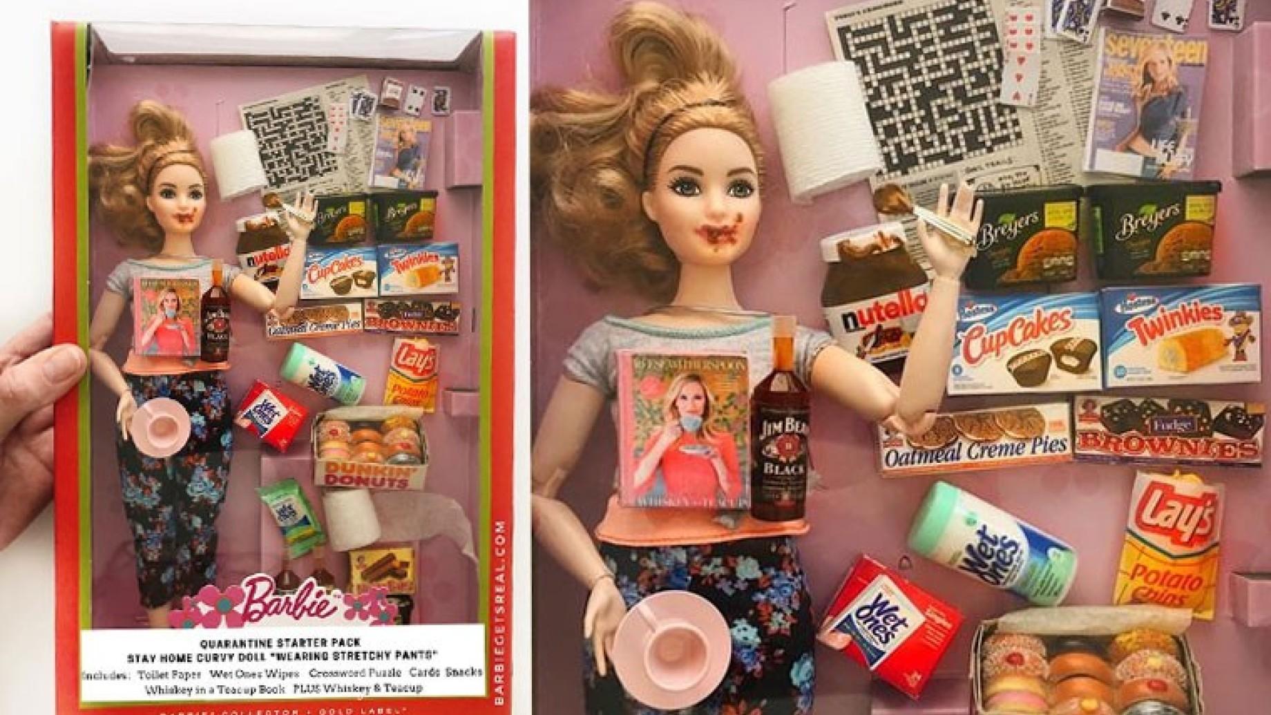 barbie quarantena