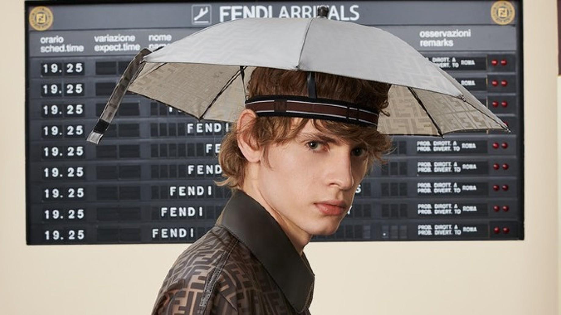 cappello fendi