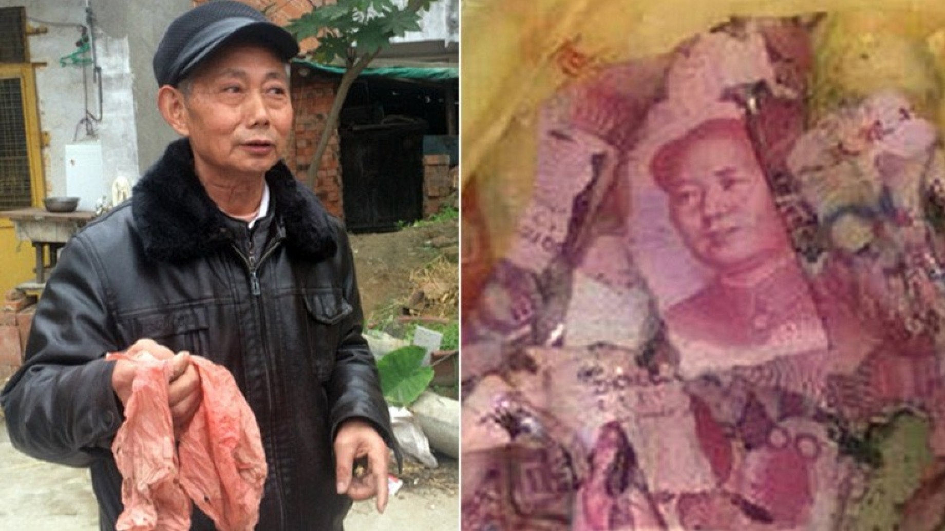 cinese soldi seppelliti