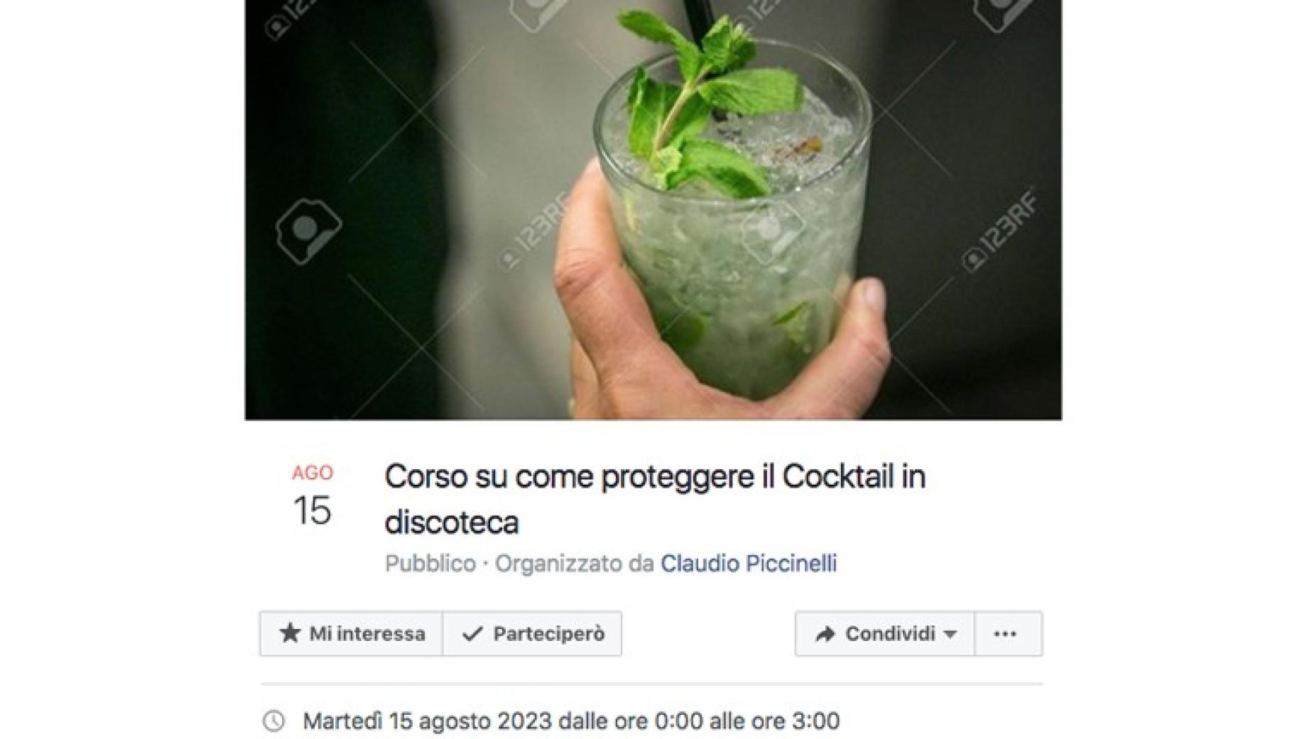 evento cocktail