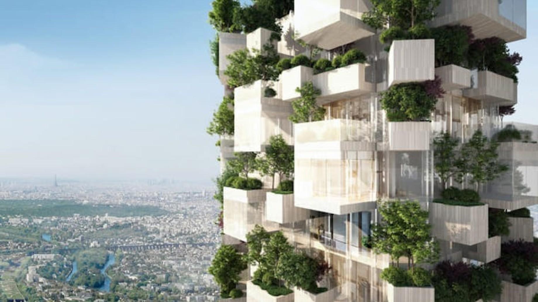 Parigi copia milano: in arrivo un bosco verticale francese il