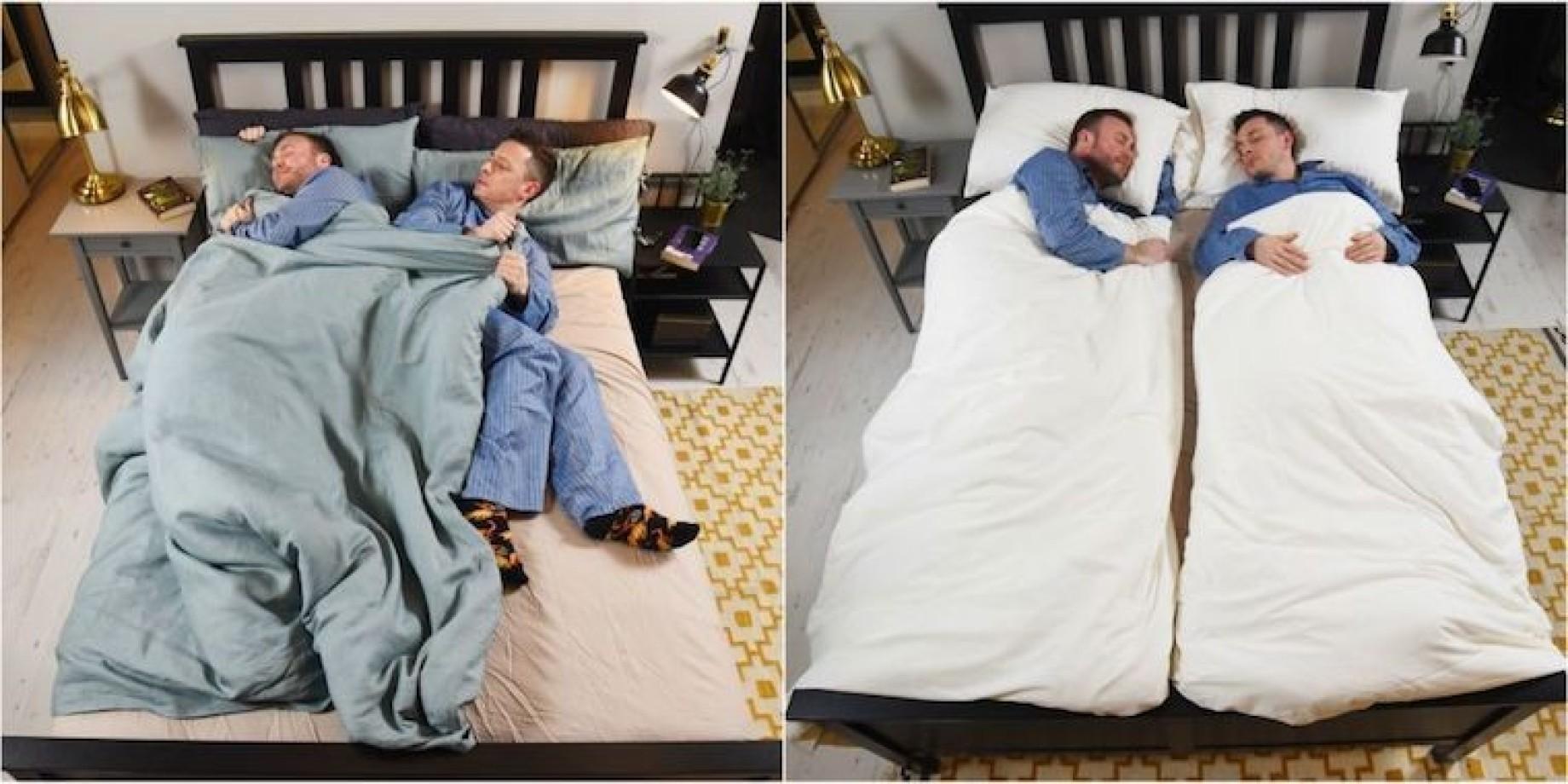 Ikea Lancia Il Piumone Definitivo Per Le Coppie Che Si Litigano Le