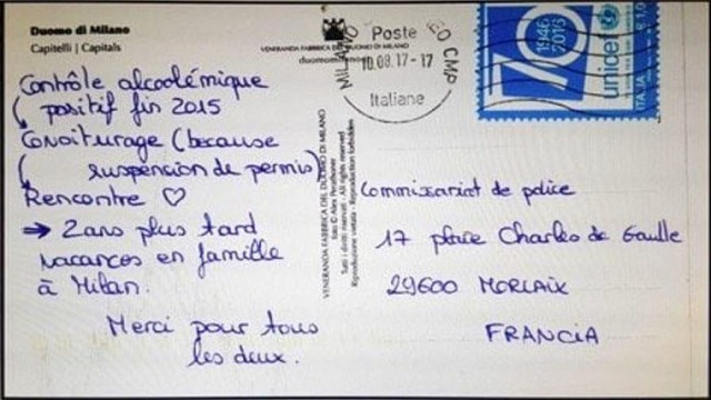 multa-cartolina