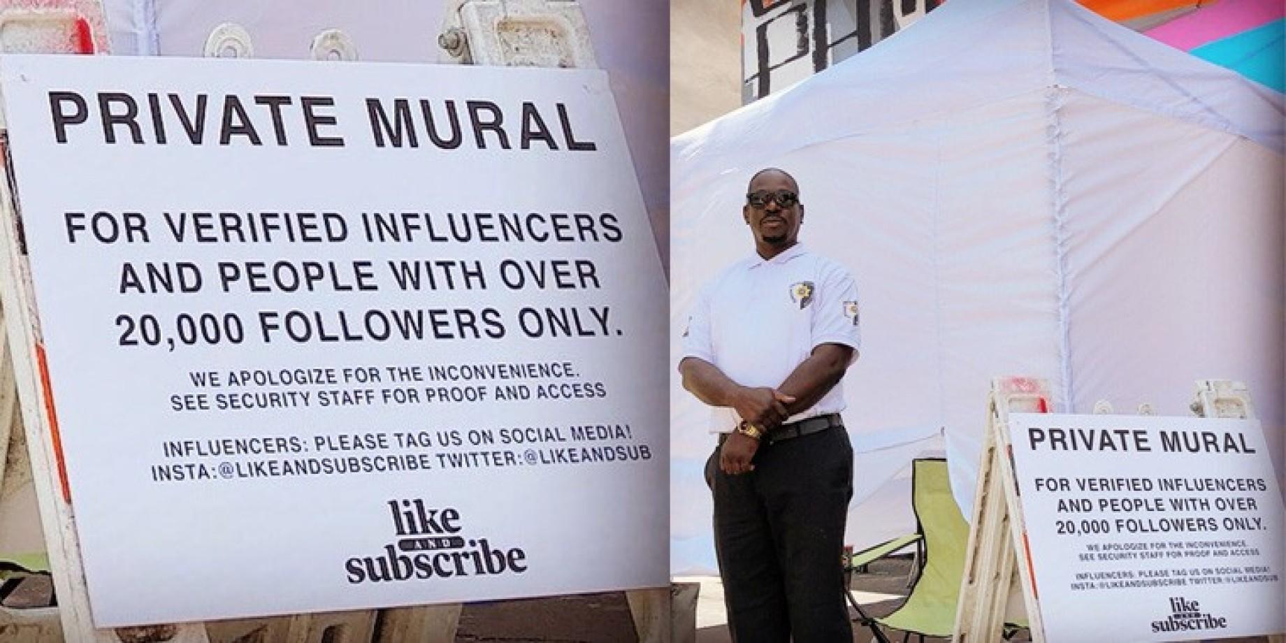 murale influencer