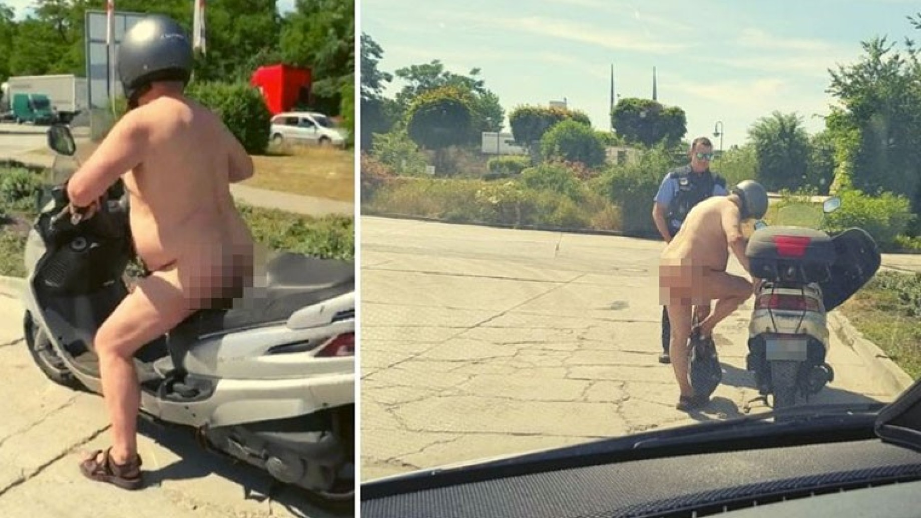 scooterista-nudo
