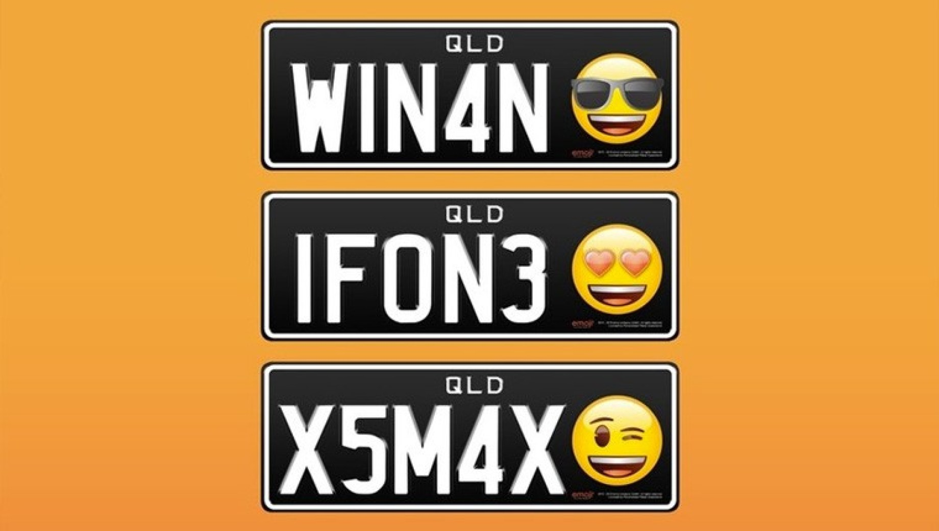 targhe emoji